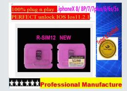 Wholesale Iphone S Unlocked - 8 Photos Rsim 12+ r sim 12+ RSIM12+ iphone unlock card for iPhone 8 iPhone 7 plus and i6 unlocked iOS 11.x-7.x 4G CDMA GSM WCDMA SB AU S