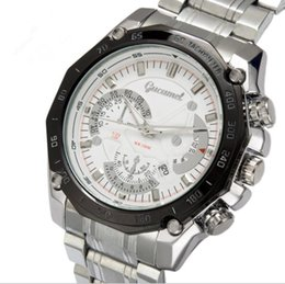 Wholesale Fashion Watchs - 2018 Man Military watch Stainless steel luxury Casual wristwatch Famous brand quartz watch male clock Fashion sports watchs A269