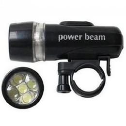 Wholesale High Power Led Bike Lights - 2016 New High light 5 Led Power Beam Bike Bicycle Headlight Torch Lamp