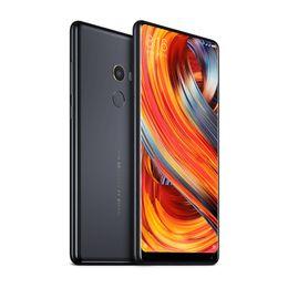 "Wholesale Smartphone Mi - Original Xiaomi Mi MIX 2 MIX2 6GB 256GB Smartphone Mobile Phone Snapdragon 835 Octa Core 5.99"" FHD 12.0MP NFC Full Screen 4G LTE Cell Phone"