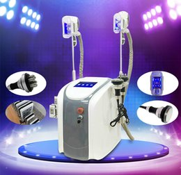 Wholesale Cryo Laser - 2018 Hot Sale!!! 2 Cryo Handle Portable Zeltiq Cryo lipolysis Fat Freezing Machine Diode Lipo Laser Cavitation RF Slimming Machine CE DHL