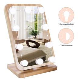 20w Trennbare Austauschbare 10 LED Lampen Touch Dimmer Memory Funktion  Make Up Spiegel Lichter Für Make Up Zimmer Dressing Zimmer Schlafzimmer  Ankleideraum ...