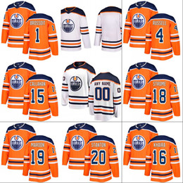 Wholesale Purple Nurse - 2017-18 Edmonton Oilers Jersey 1 Laurent Brossoit 4 Kris Russell 18 Ryan Strome 22 Chris Kelly 25 Darnell Nurse Custom Hockey Jerseys