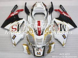 fairing rsv Promo Codes - ACE Motorcycle Fairings For Aprilia RSV 1000 2004 2005 Compression or Injection Bodywork A variety of color No.690