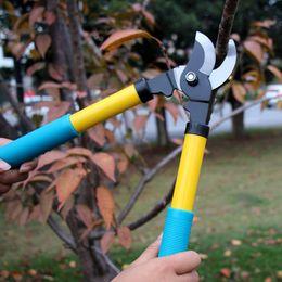 Cercas cortadas on-line-Frete grátis jardinagem poda tesoura de flores árvores aparador de tesouras de hedge arbustos aparar cortando cerca cortador de ramos ferramenta de corte
