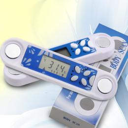 Digital LCD Monitor de grasa corporal Monitor Medidor de salud Monitores Calculadora de BMI Tester con reloj de tiempo Control de peso Gestión desde fabricantes