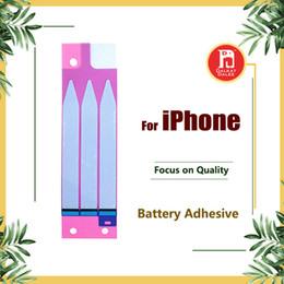 Tiras de fita on-line-Bateria adesiva cola fita tira adesivo peças de reposição para iphone 4 4s 5 5s 5c 6 6 plus 6 s 6 s plus 7 7 plus