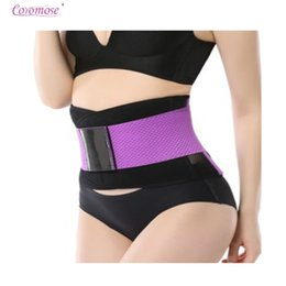 Wholesale Waist Slimmer Band - Coromose Women Waist Trainer Belt Belly Band Belts Hot Body Shaper After Birth Slim Belt Corset Postpartum Tummy Trimmer