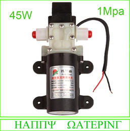 Wholesale Wash Pump - High Pressure 1Mpa Booster Pump for Car Washing 45W 1Diaphragm Sprayer Pump 12V