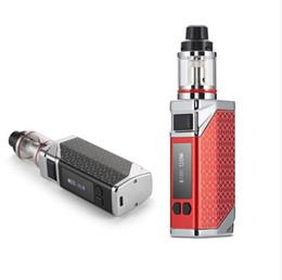 Grandes mods de bateria on-line-Pouplar e cig 80 w caixa vape mods starter kit grande vaporizador de óleo e 2200 mah bateria com display led tela