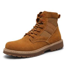 Wholesale Martin Boots Cowboy - szsgcn84 High Quality Men Boots Winter Snow Warm Casual Shoes Men Boots Leather Plush Fur Fashion Men Boots Size 39-44