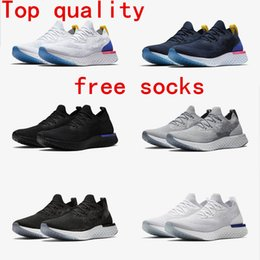 Wholesale Leather Shoes For Sale - 2018 Top A1 N K Epic React Instant Go Fly Breath Comfortable Sport Boost Size 5-11 Mens outdoor Shoes For Sale Women Athletic Sneakers