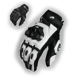 revit moto Rebajas Motocicleta ASF-6 guantes de cuero de la motocicleta caballero diario montar guantes de protección corredor ocasional paseo proteger negro y con transpirable