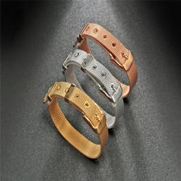Wholesale Titanium Bracelets For Health - Titanium Steel Elastic Bracelet Stretch Bracelet Bangle For Men Women Health Energy Ge Power Jewelry