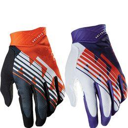 Wholesale Men Mountain Bikes - Wholesale KTM Motorcycle gloves Downhill mountain bike gloves Men MX Motocross full finger gloves DH MTB Cycling racing glove Luvas Guant