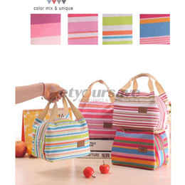 Wholesale thermal bedding sets - 2017 Portable Insulated Thermal Cooler Lunch Box Carry Tote Storage Bag Case Picnic