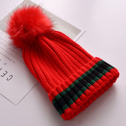 6 Colors Pom Pom Stripe Winter Hats Weaven Beanie Gorras Luxury Cap Fitted  Hat Luxury Polo Hats Skull Caps Bucket Hats. Supplier  ficoco 5013dec116f9