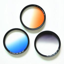 2019 digitalkamera objektivfilter Kamera allmähliche Änderung Spiegel grau allmähliche Änderung grauer Spiegel allmähliche blau orange Filter Farbfilter 67mm 77mm 82mm