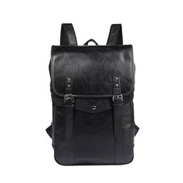 Wholesale art materials - Hot sale Europe and the United States top backpack fashion England backpack unisex school bag PU material waterproof bag