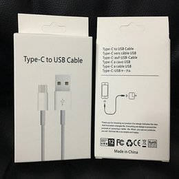 Wholesale Apple Oem - Type-c USB Charger Cable A+++++ Quality OEM 1M 3Ft Sync Data Cable Cords With Retail Box