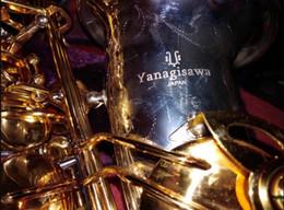 Niveau professionnel E Flat YANAGISAWA A-W037 Saxophone Alto Sax Instruments Alu Argentés et Plaqués Or Embouchure, Etui, Accessoires ? partir de fabricateur