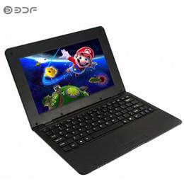 mini laptop de polegada android Desconto 10.1 Polegada notebook Android laptop HDMI Laptop 8 GB Quad Core Android 5.0 HDMI Wi-fi Mini Netbook Bluetooth RJ45