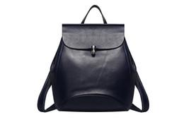 mochilas moradas azules Rebajas XW Studio QSL-0774 Mochila en piel de vaca para mujer Negro / Azul / Rojo / Violeta / Vino tinto / Gris