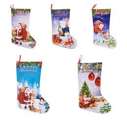 decorazioni del camino Sconti Decorazioni natalizie Sacchetti regalo Ciondoli Sacchetti regalo Calze Decorazioni per caminetti Dimensioni medie Natale Stampa 3D Calzini nataliziT7I278
