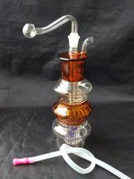 Wholesale Pagoda Glass - Color pagoda hookah Wholesale Glass Hookah, Glass Water Pipe Fittings, Free Shipping