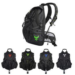 7c1b7aa0427 2019 mochilas de moto negro Bolso de la motocicleta de los hombres negros Mochila  impermeable de
