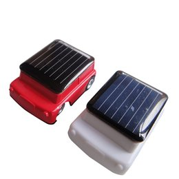 Argentina Venta al por mayor- 2017 Niños Niños Divertidos Mini Solar Powered Robot Auto Car Toys 1 Pcs Suministro