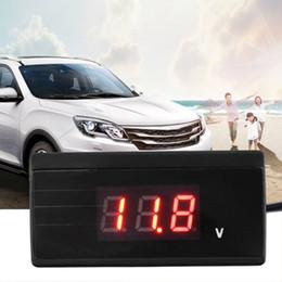 logiciel de diagnostic de voiture gratuit Promotion Livraison gratuite yentl 12 V / 24 V Mini Auto Numérique LED Voltmètre Jauge De Tension De Voiture Mètre Batterie Mini Voiture Tension Mètre Volt Testeur pour Auto