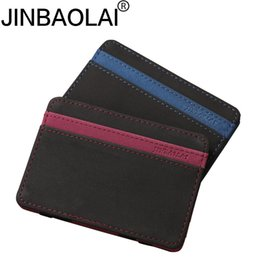 Wholesale Banks Autos - Bus Door Badge Bank ID Business Credit Card Holder Women Men Wallet Case Auto Document For Driver Of Car Porte Carte Cardholder