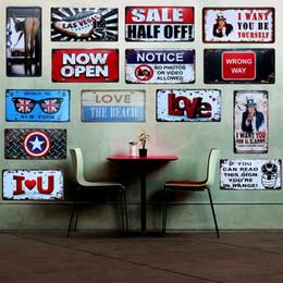 Оловянные вагоны онлайн-Las Vegas Vintage CAR Decorative License Plate Metal Tin Signs Bar Pub Home Wall Decor Plaque Iron Craft Painting 15X30CM A578