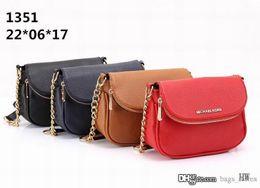 Wholesale Fashion Brands Online - Fashion Women M Chain wallets Bags Leather Famous Brand Designer Lady Clutch Shoulder Bag Cheap Sale Online