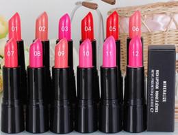 Reicher lippenstift online-24 PCS heißer NEUER neuer Verfassungs-niedrigster meistverkaufter guter Verkauf neuestes MINERALISIEREN RICH LIPSTICK ROUGE A LEVRES 4.04g