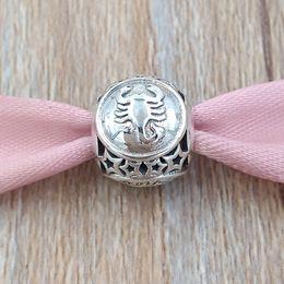 Scorpion Star Sign Charm 925 perles en argent Sterling Convient aux bracelets de Bijoux de Style Pandora Européen 791943 ? partir de fabricateur
