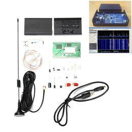 Wholesale Radio Receiver Kits - 100KHz-1.7GHz Full-Band Software Radio HF FM AM RTL-SDR Receiver Radio Frequency Modulation Kit