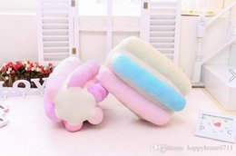 Wholesale Girlfriend Cushion - Soft and comfortable high quality cotton candy pillow Christmas sweet ice cream girlfriend birthday gift plush cushions family and couple Ch