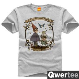Sobre la pared del jardín Wirt Greg Beatrice Imprimir Diseño original Moda Casual Camiseta de algodón Camiseta TEE Envío gratis desde fabricantes
