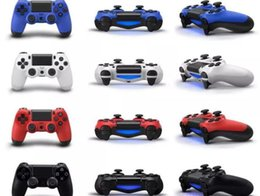 Wholesale Wireless Bluetooth Gamepad Controller Wholesale - Wireless Bluetooth Game Controller for PlayStation 4 PS4 PS4 Game Controller Gamepad Joystick for Android Video Games With hot sa Retail Box