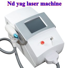 Wholesale q switched - 8 Inch color touch screen Q-Switch ND Yag laser tattoo removal machine with 3 probes 532nm & 1064nm & 1320nm