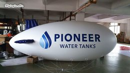 Wholesale Pvc Advertising - Advertising Inflatable Blimp Parade Supplies Cheap Pvc Helium Balloons With Custom Wings For Outdoor Event Show