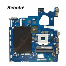 Wholesale laptop intel mainboard - Reboto FOR Samsung NP300E5C 300E5C Laptop Motherboard Mainboard BA92-11484A GT 620M 1GB HM75 DDR3 MB 100% Tested Fast Ship