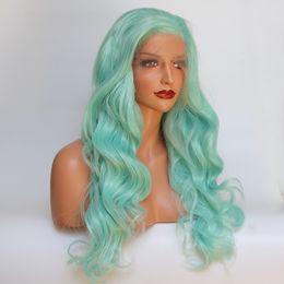 lockige grüne haarperücke Rabatt 20-24