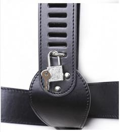 Wholesale locking pants belt - Adult woman with chastity belt Admitting sex toys Alternative adult toys with lock chastity pants SM