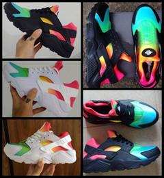 8a7d57bd18f8 cheap men huaraches shoes Promo Codes - 2018 Air Huarache 1 I Men Women  Running Shoes