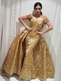 98104a7226 vestido brillante de peplum Rebajas Yousef Aljasmi Vestidos de noche  Vestidos de fiesta de sirena con