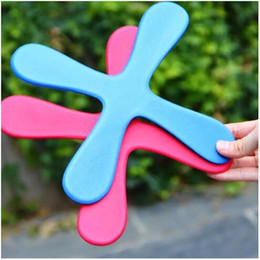 Wholesale Popular Wooden Toys - Safe EVA Dart Flying Boomerang Back Frisbee EVA Leaf Boomerang Dart Back And Forth Popular Indoor Outdoor Sports Toys For Kids
