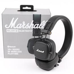 melhores jogos de computadores Desconto Marshall Major III 3.0 2.0 Sem Fio Bluetooth Headphones Deep Bass Isolamento de Ruído Fone de Ouvido Sem Fio Major 3 Hi-Fi